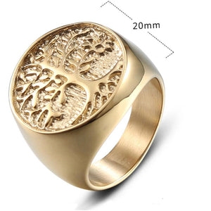 Yggdrasil Nine Worlds Ring