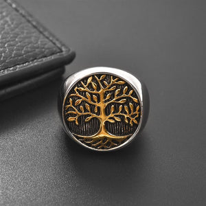 The Odin Tree of Life Ring