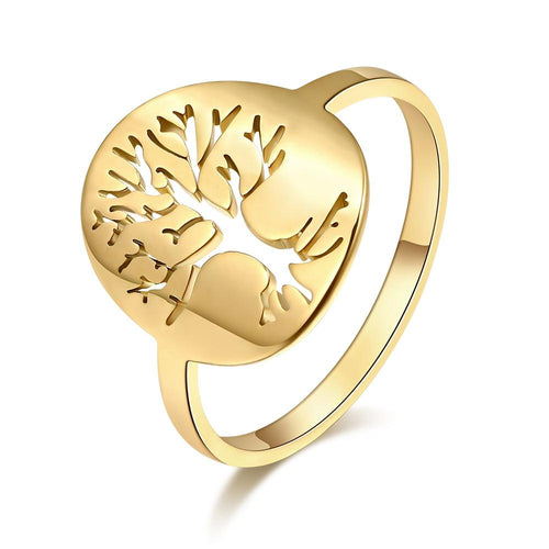 Yggdrasil Tree of Life Ring