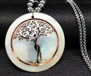 white shell tree of life