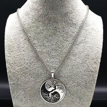 Charger l'image dans la galerie, Yin and Yang Tree of Life Pendant