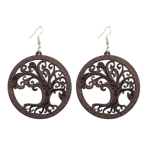 Devana Tree of Life Earring