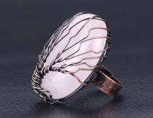 Charger l'image dans la galerie, Healing Gemstone Tree of Life Ring