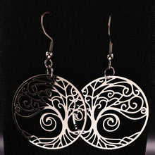Charger l'image dans la galerie, Ancient Egypt Tree of Life Earring