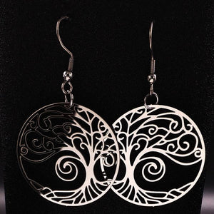 Ancient Egypt Tree of Life Earring