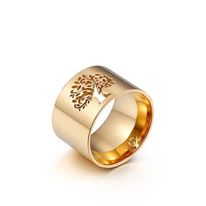Viking Goddess Tree of Life Ring