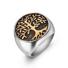 Charger l'image dans la galerie, The Odin Tree of Life Ring
