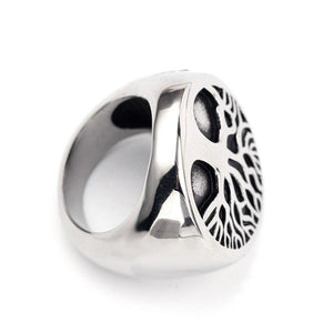 Odin Viking Warrior Amulet Ring