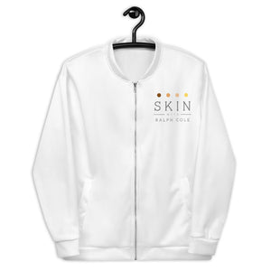 Skin with Ralph Cole Unisex Bomber Jacket
