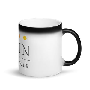 Skin with Ralph Cole Matte Black Magic Mug