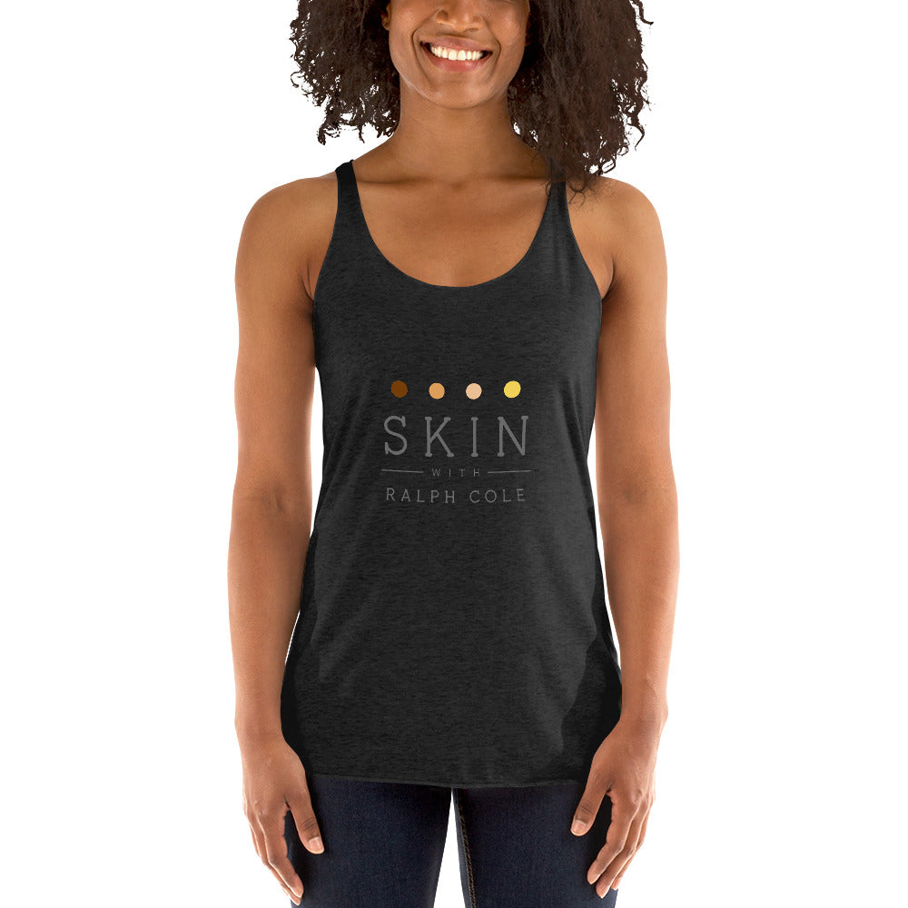 Skin with Ralph Cole Women's Racerback Tank