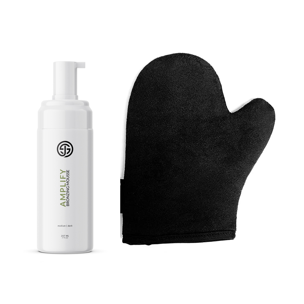 Self Tan Bronzing Mousse + Tanning Mitt Combo Pack