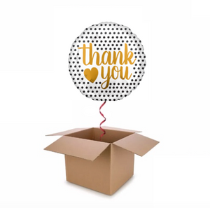 Dotty Thank You Balloon In A Box