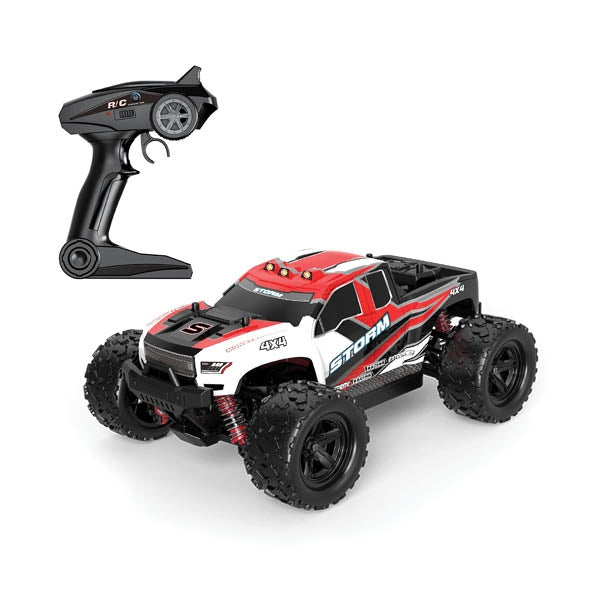1:18 Storm Red RC 4WD Car