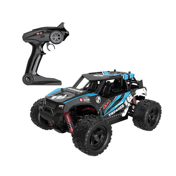 1:18 Thunder Blue RC 4WD Car