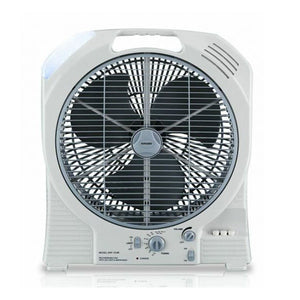 KATABAT 14 Inch AC/DC Rechargeable Oscillating Fan