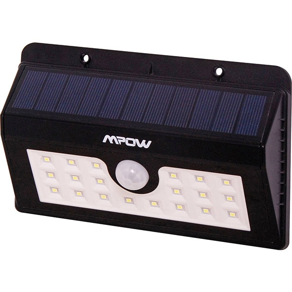 20 LED Weatherproof IP65 Solar PIR Light