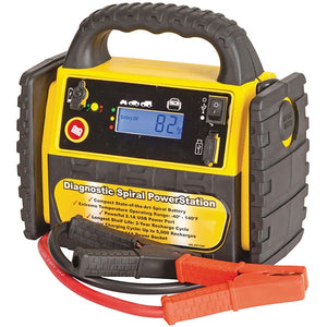 3-in-1 Jump Starter with Spiral Wound Battery
