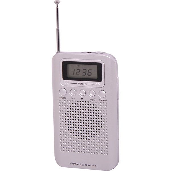 AM/FM Pocket Radio With Auto Scan