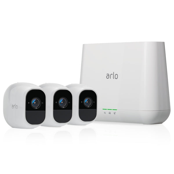 ARLO PRO Indoor/Outdoor Wire-Free HD 3 Camera System