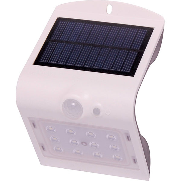 Solar Powered Weatherproof 12 LED Sensor Light