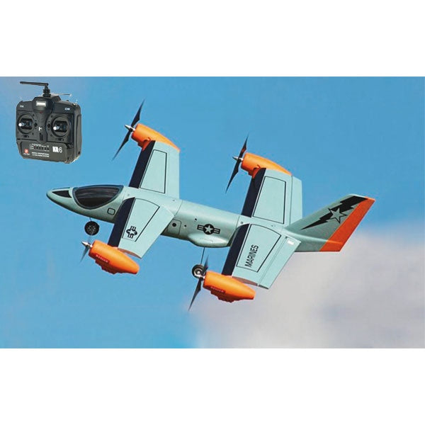 Ares V-Hawk X4 Hybrid RC Plane and QuadCopter