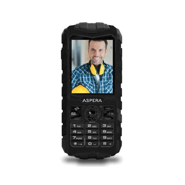 ASPERA R25T Rugged Mobile Phone - NETWORK UNLOCKED
