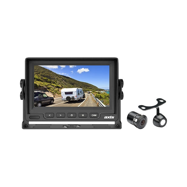 AXIS Heavy Duty LED Monitor & Compact Rear View Camera Kit