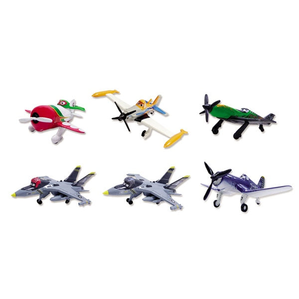 DISNEY PLANES Buildable Planes Figures