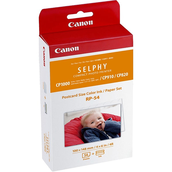CANON Selphy Ink and Paper Pack