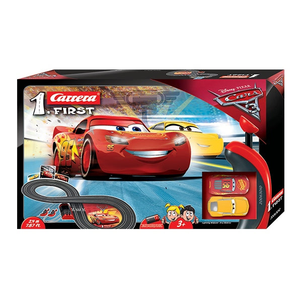 CARRERA GO!!! 1:50 Scale My First Slot Car Set - Disney Pixar Cars 3
