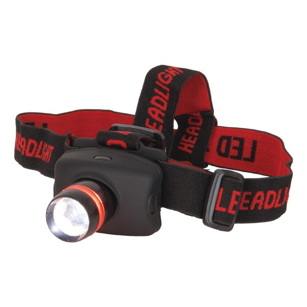 CREE  ST3213 260 Lumen LED Head Torch with adjustable beam