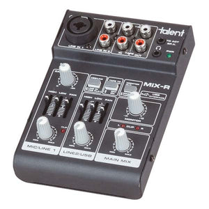 DIGITECH AUDIO Mini 3 Channel Mixer with USB Interface