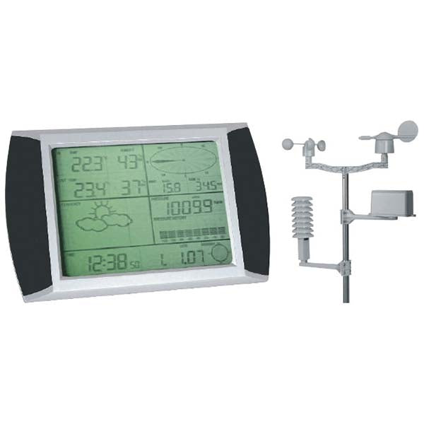 DIGITECH Touch Screen Wireless Weather Station with USB PC Link