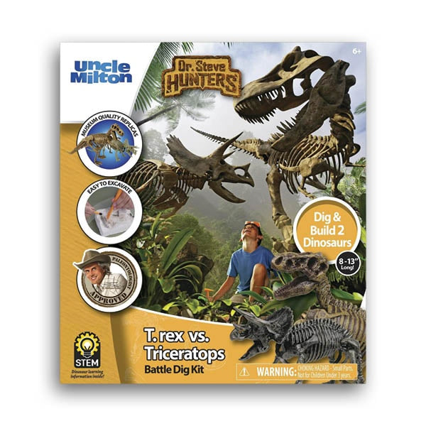 DR STEVE DRS91072 - Dino Battle Excavation Kit