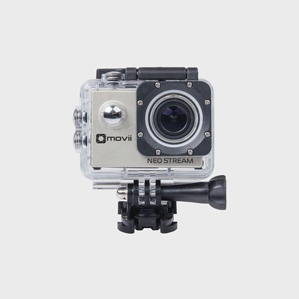 MOVII 1080p Wi-Fi Action Camera with LCD