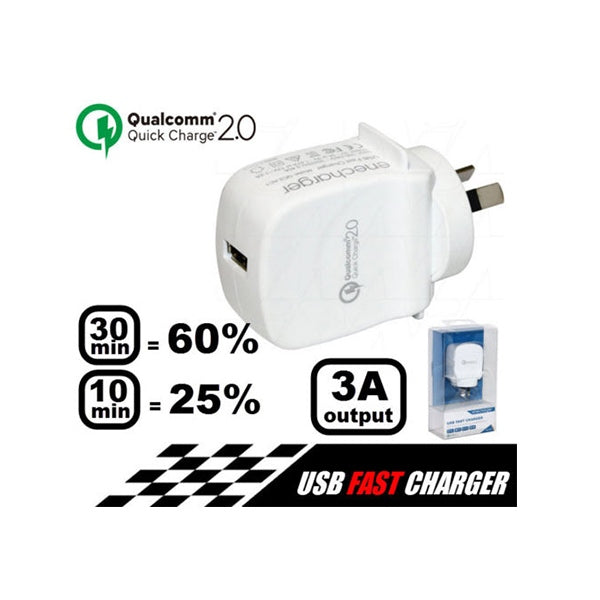 ENECHARGER Quick Charge (QC2) USB Home Charger