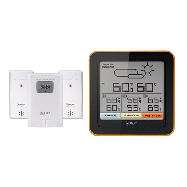 OREGON SCIENTIFIC Home Climate Control - with 3 Sensors