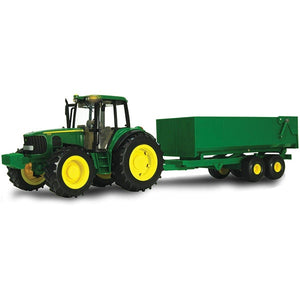 JOHN DEERE 1:16 Big Farm 6930 Tractor with Dump Wagon