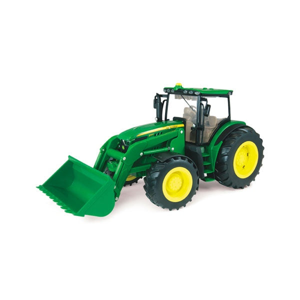 JOHN DEERE 1:16 Scale Big Farm Tractor with Loader