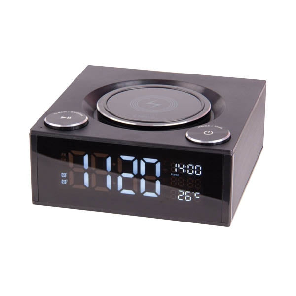 LASER SPK-QC002 QI Wireless Charging Alarm Clock