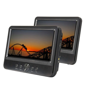 "LENOXX 10.1"" Twin Screen Portable DVD Player"