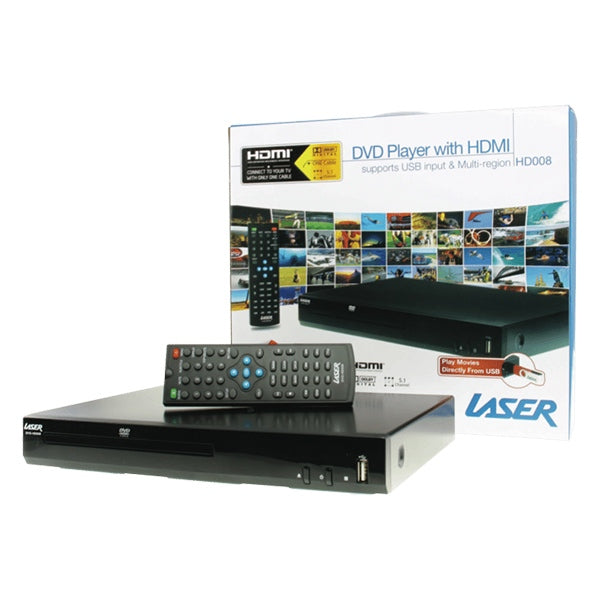 LASER DVD Player with HDMI