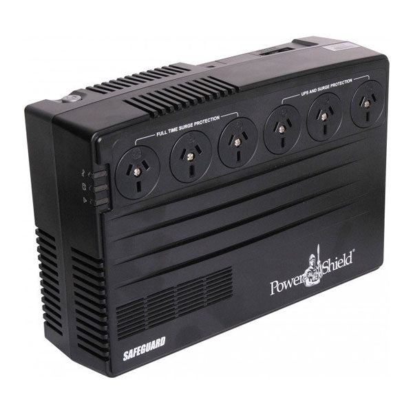 POWERSHIELD SafeGuard 750VA/450W Uninterruptible Power Supply (UPS)
