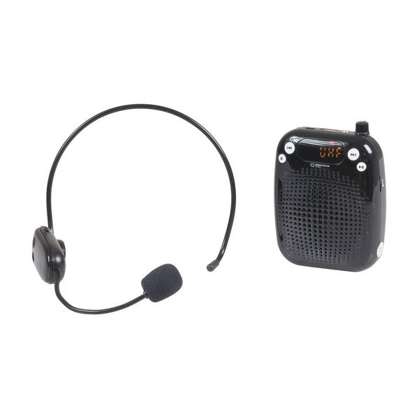 DIGITECH AUDIO Portable Wireless UHF Microphone Headset System