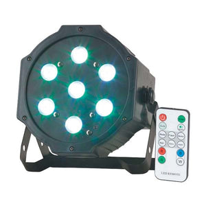 RAVE Stage Party light with 7 x 4W RGB LED's