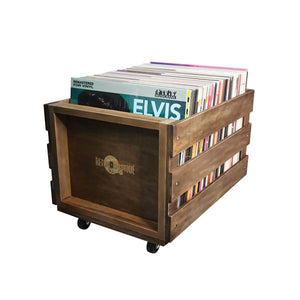 "RM 12"" WOODEN LP CRATE"