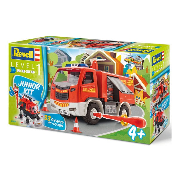 REVELL Junior Buildable Fire Engine