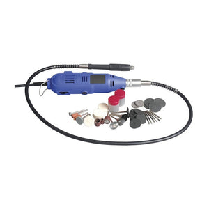 POWERTECH Rotary Tool Kit with Flexible Shaft