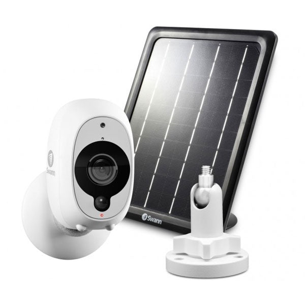 SWANN 1080P Full HD Wireless Camera plus Solar Panel Home Security Kit